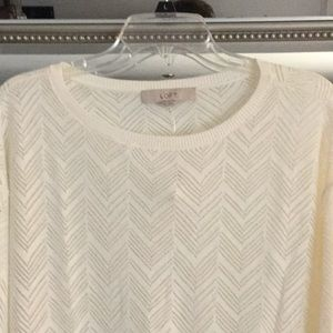 NWT Loft Light weight sweater.